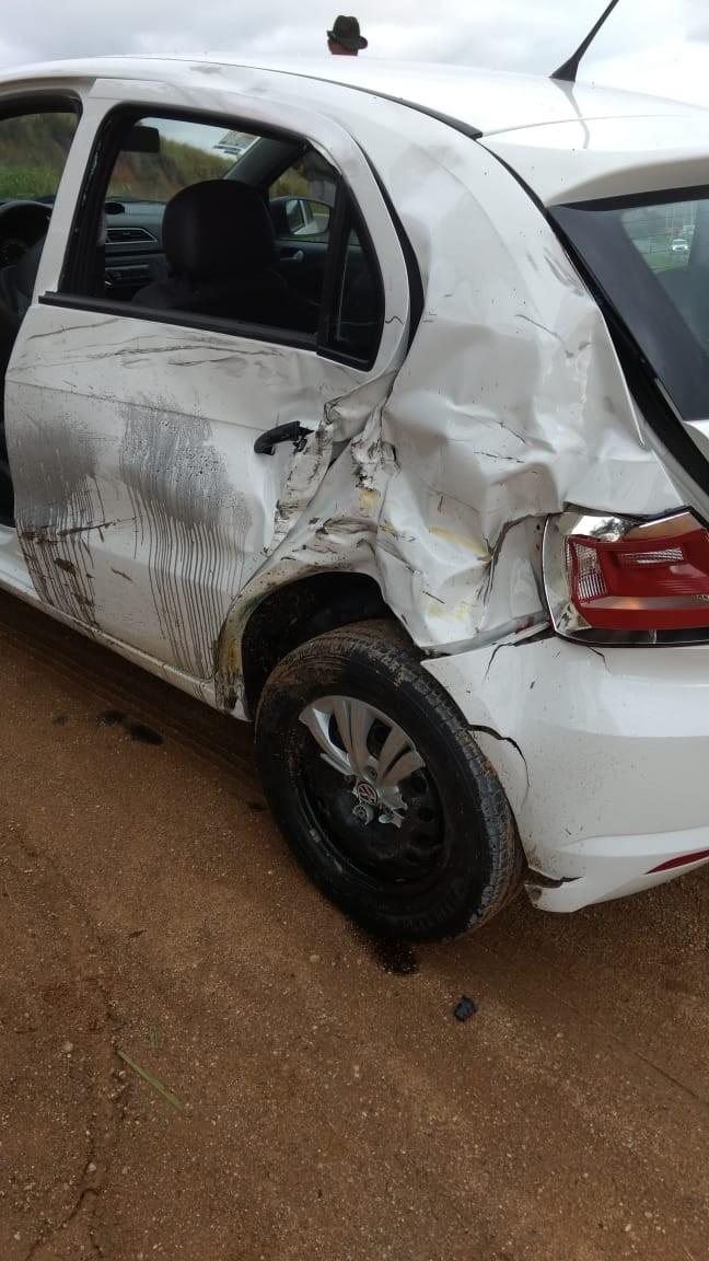 Acidente nesta tarde em Braço do Norte e vitima com poli traumatismo
