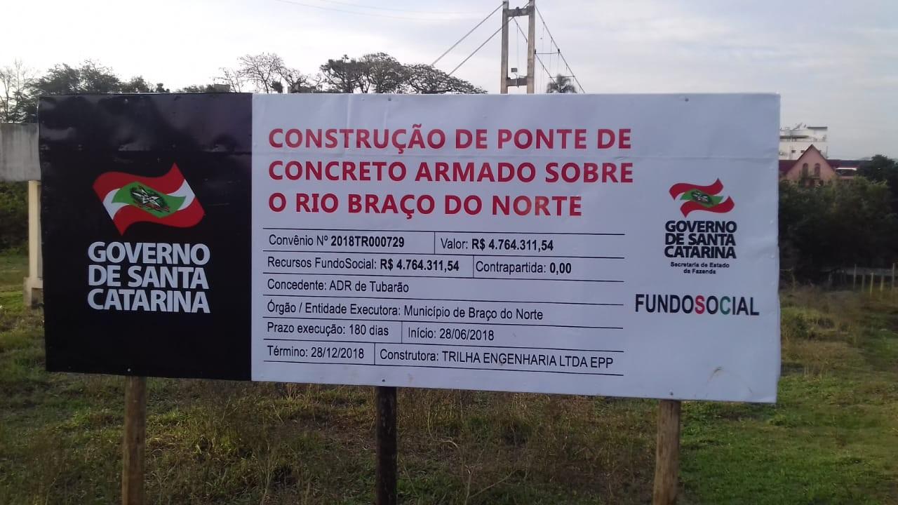 Por possíveis irregularidades em inabilitação de licitação, Administração de Braço do Norte tem dez dias para se manifestar